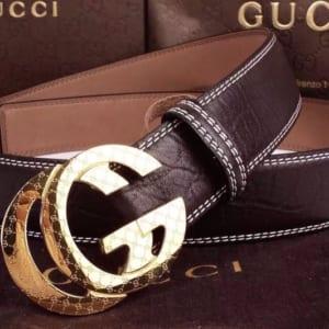 Dây lưng nam Gucci siêu cấp mặt khóa G họa tiết