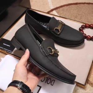 Giày lười D&G da rám GLDG 05