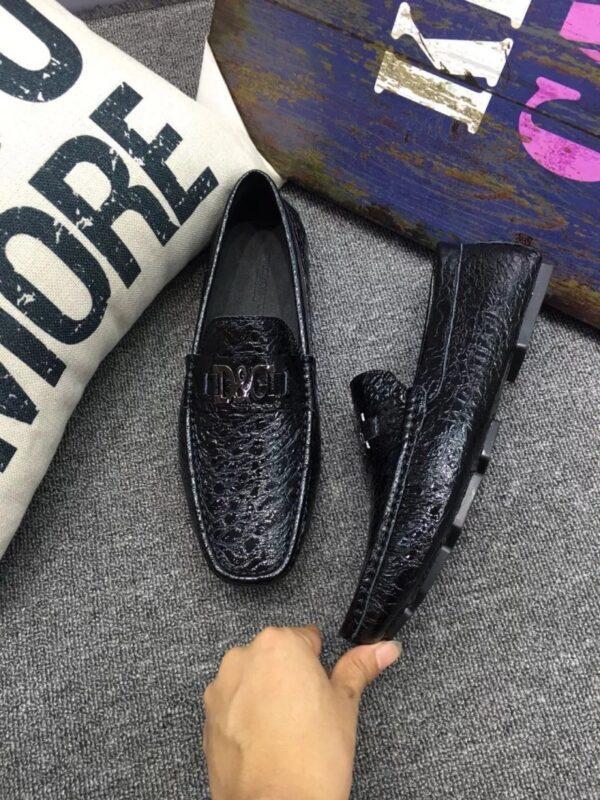 Giày lười D&G màu đen GLDG06