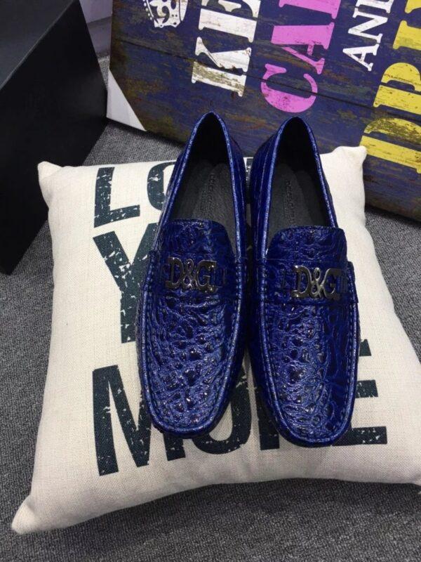 Giày lười D&G màu xanh GLDG 07