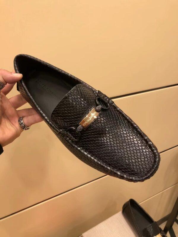Giày lười D&G vảy cá GLDG 02