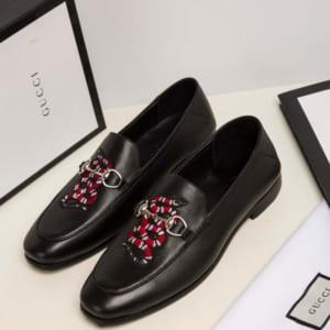 Giày lười Gucci siêu cấp họa tiết rắn