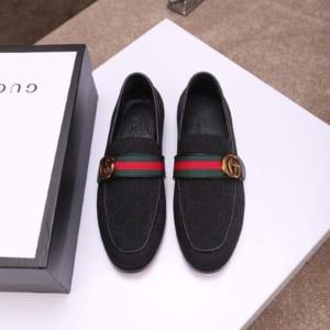 Giày lười Gucci màu đen GLGC 02