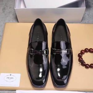 Giày lười Prada siêu cấp da bóng