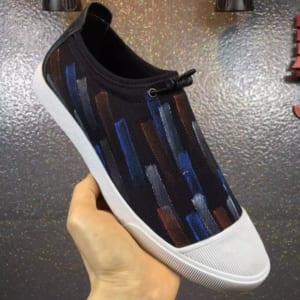 Giày lười Prada siêu cấp họa tiết sơn