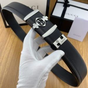 Thắt lưng nam Gucci siêu cấp mặt khóa logo họa tiết đèn lồng