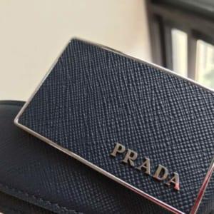Thắt lưng Prada nam mặt chữ nhật siêu cấp
