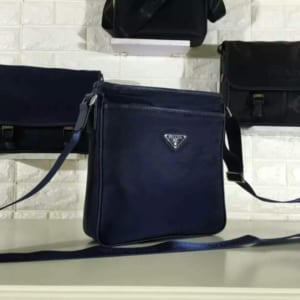 Túi đeo chéo Prada siêu cấp xanh