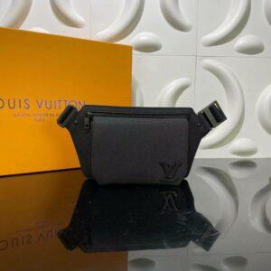 Túi đeo chéo Louis Vuitton like au hình lục giác màu đen TDCLV23