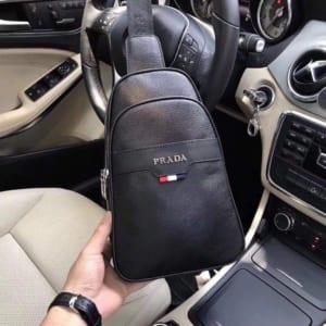 Túi đeo chéo Prada siêu cấp da trơn