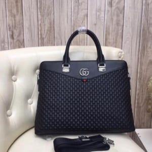 Túi xách Gucci nam xanh đen da sần hàng siêu cấp