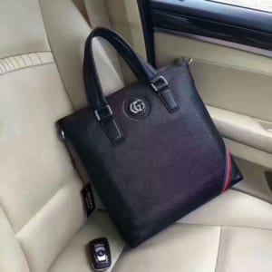 Túi xách Gucci nam đứng xanh đen kẻ góc hàng siêu cấp