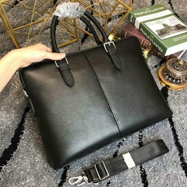 Túi xách nam Gucci đen hai kẻ sọc siêu cấp