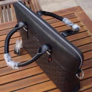 Túi xách nam Gucci đen vẩy cá siêu cấp