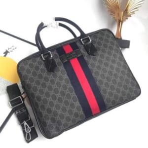 Túi xách nam Gucci siêu cấp họa tiết xanh đỏ