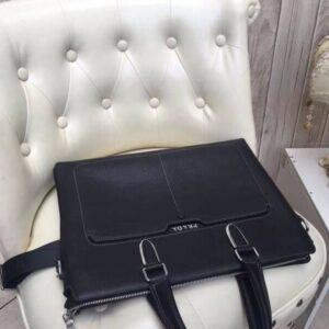 Túi xách Prada nam siêu cấp tím than da sần