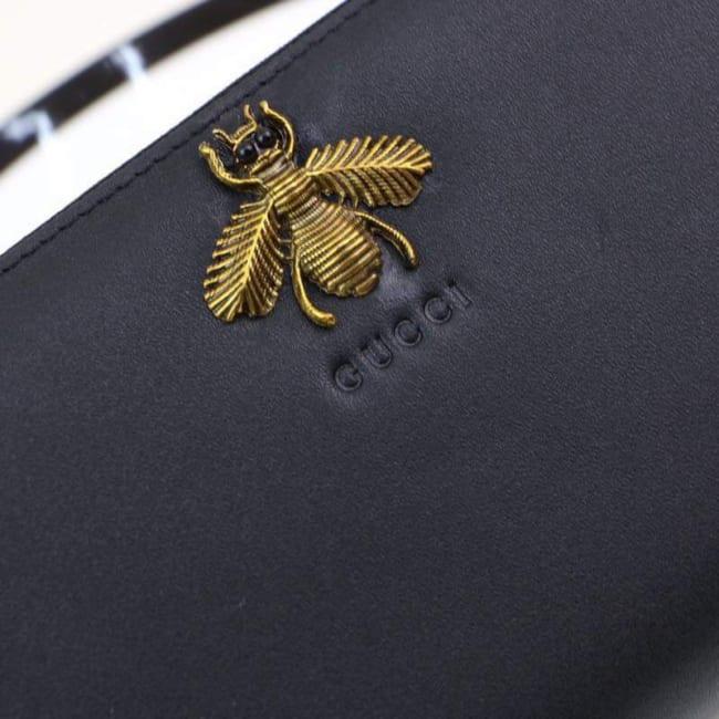 Ví dài nam Gucci siêu cấp họa tiết ong