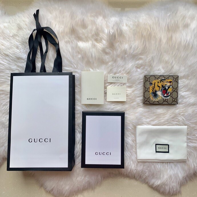 Ví nam Gucci siêu cấp họa tiết hổ