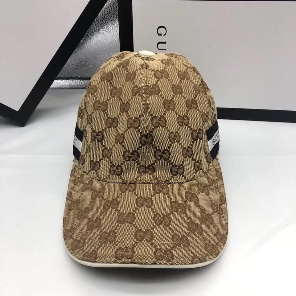 Mũ nam Gucci siêu cấp vàng họa tiết logo