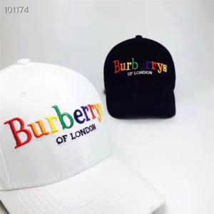 Mũ nam Burberry siêu cấp trắng họa tiết logo