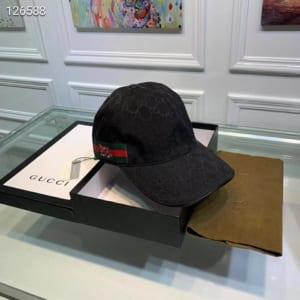 Mũ nam Gucci siêu cấp đen họa tiết rắn