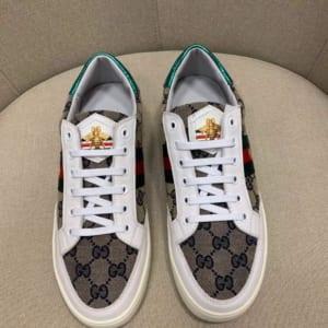 Giày nam Gucci siêu cấp họa tiết con ong GNG02
