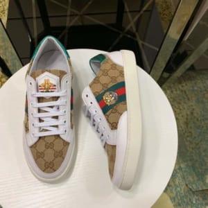 Giày nam Gucci siêu cấp họa tiết mặt hổ GNG01