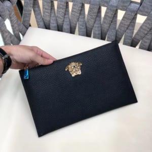 Ví nam Versace siêu cấp siêu cấp cầm tay họa tiết mỹ thuật