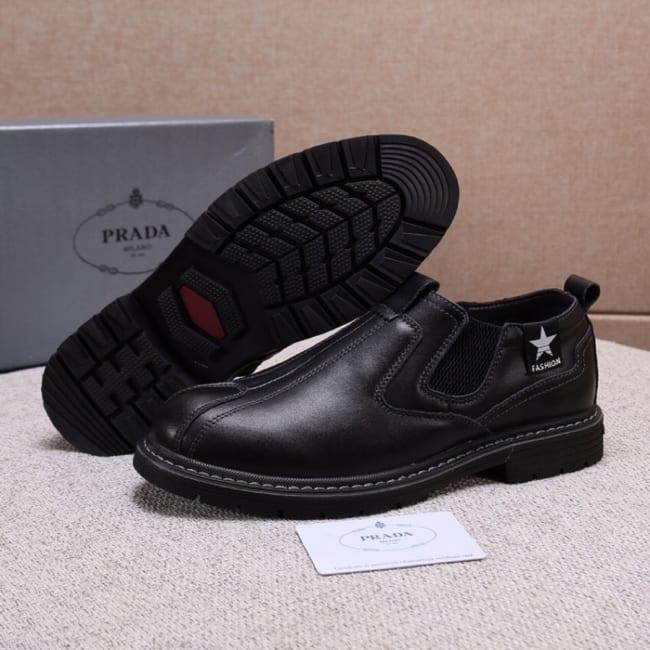 Giày lười Prada siêu cấp da bò GLP27