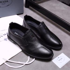Giày lười Prada siêu cấp màu đen GLP29