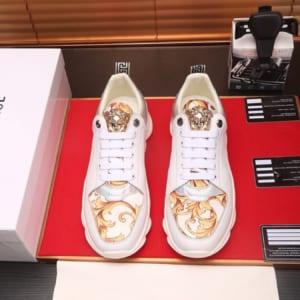 Giày nam Versase siêu cấp họa tiết hoa văn GNV25