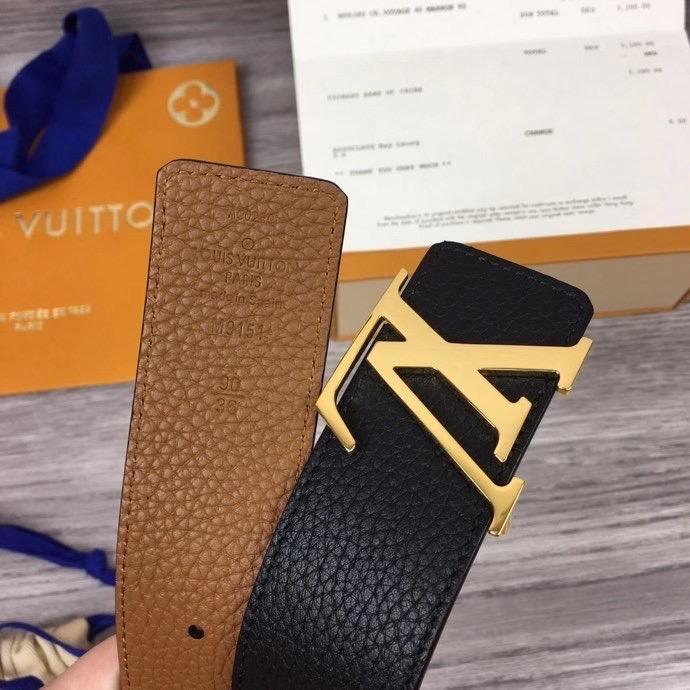 Thắt lưng nam Louis Vuitton like au dây 2 mặt TLLV71