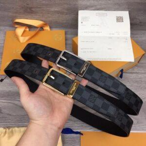 Thắt lưng nam Louis Vuitton like au mặt khóa kim TLLV77