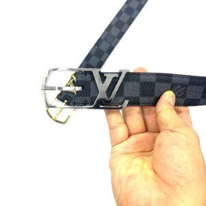 Thắt lưng nam Louis Vuitton siêu cấp mặt logo khoá kim TLLV43