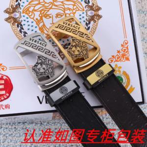 Thắt lưng nam Versace siêu cấp khóa tự động mặt chữ nhất