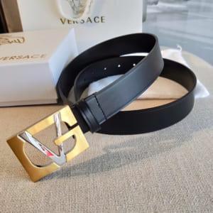 Thắt lưng nam Versace siêu cấp mặt khóa chữ