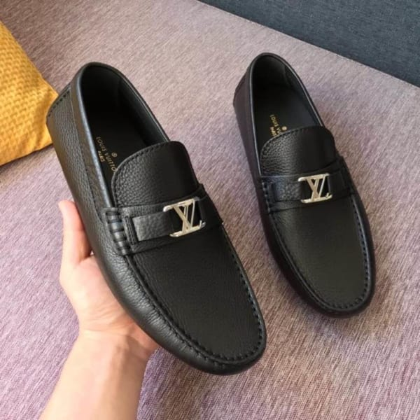 Giày lười Louis Vuitton hockenheim moccasin bản likeauth 1:1 GLLV16