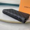 Ví nam Louis Vuitton siêu cấp cầm tay caro đen