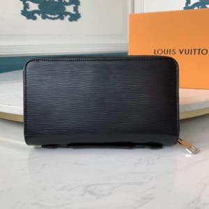 Ví nam Louis Vuitton siêu cấp cầm tay da epi màu đen