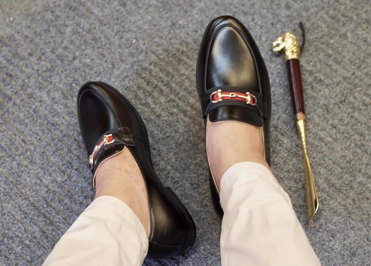 cách phối đồ với giày gucci nam