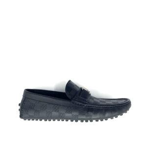Giày lười Louis Vuitton họa tiết ô vuông GLLV02