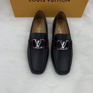 Giày lười Louis Vuitton like au đế cao tag đỏ GLLV11