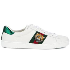 Giày nam Gucci Tiger siêu cấp họa tiết hổ GNGC01
