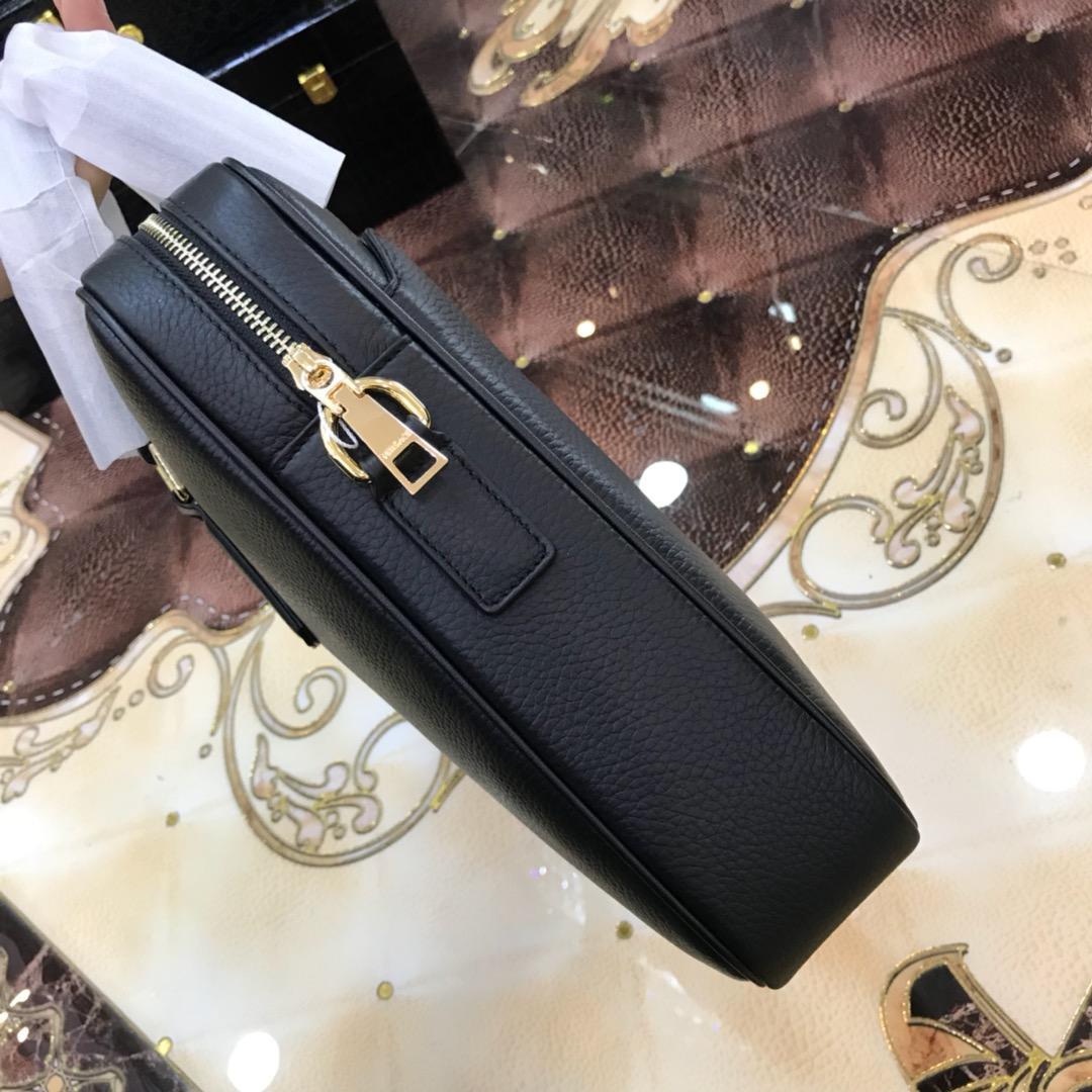 Túi xách nam Louis Vuitton siêu cấp họa tiết da nhăn mặt khóa logo vàng TXVS04