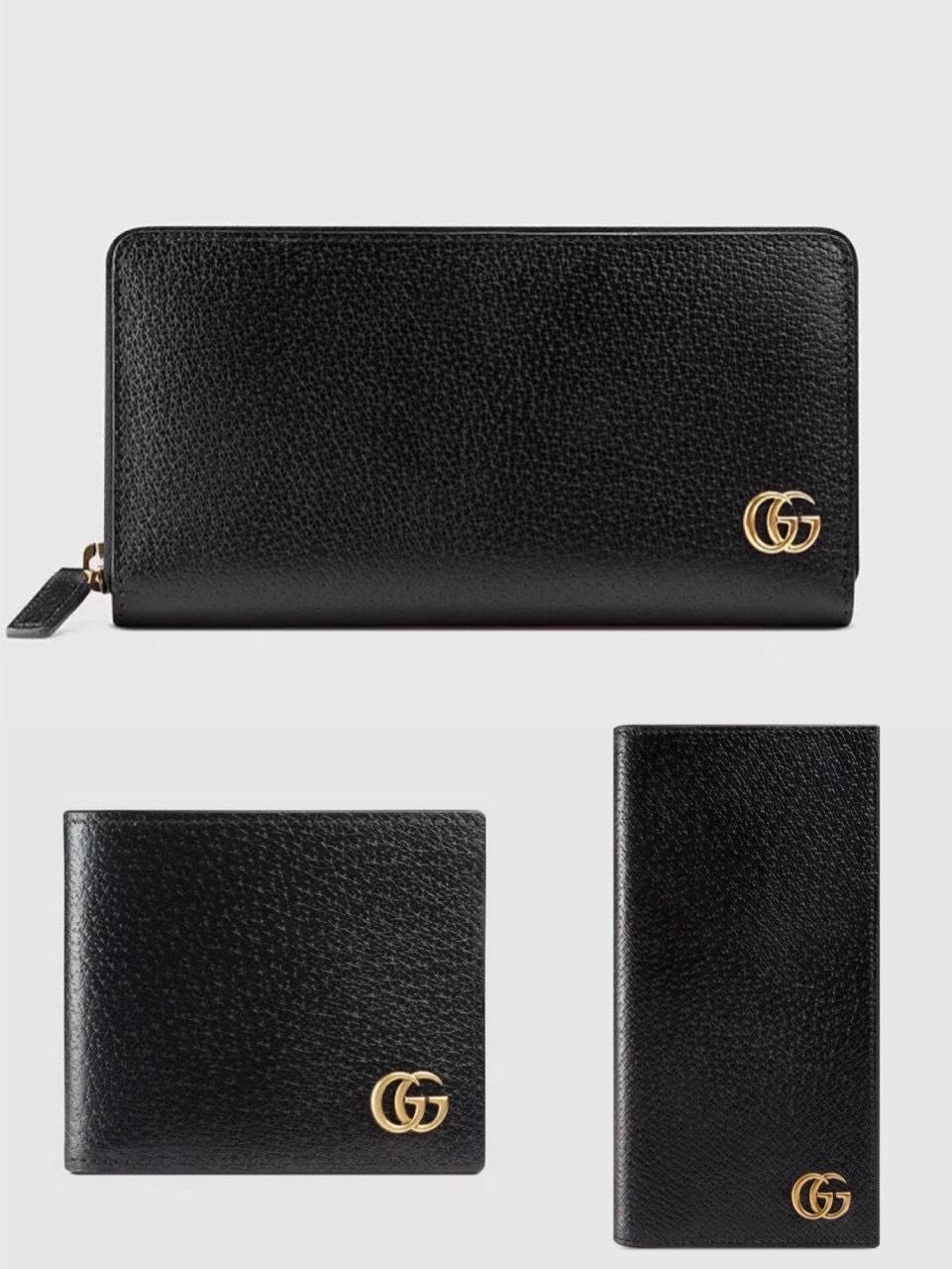 Ví nam Gucci siêu cấp bỏ túi họa tiết chữ G VNG89