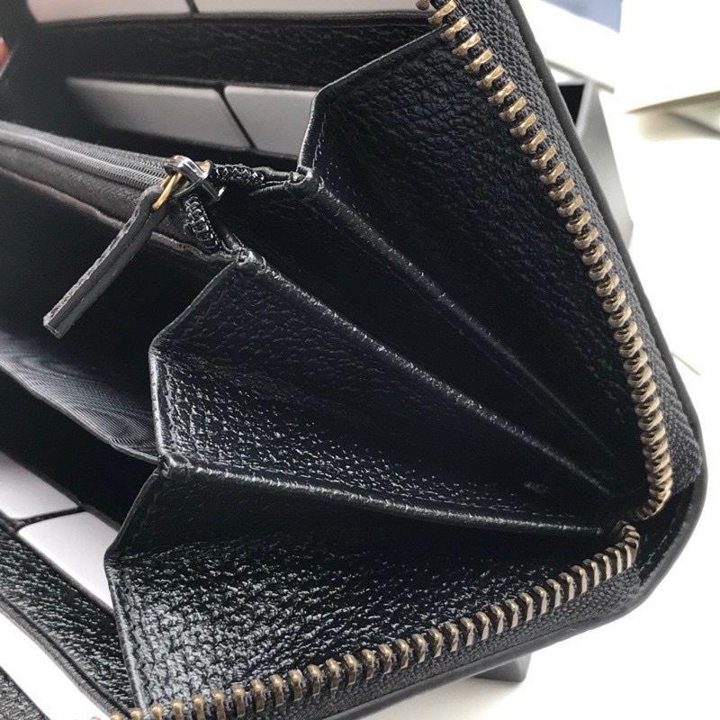 Ví nam Gucci siêu cấp khóa kéo họa tiết gucci ong VNG92