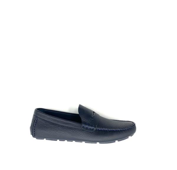 Giày lười Louis Vuitton like auth tag ẩn xanh GLLV98