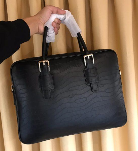Túi xách nam Versace siêu cấp họa tiết da dập vân TXVS06