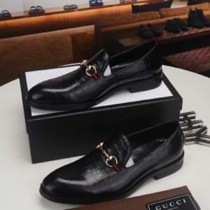 Giày lười Gucci siêu cấp đế cao họa tiết da rạn GLGC53