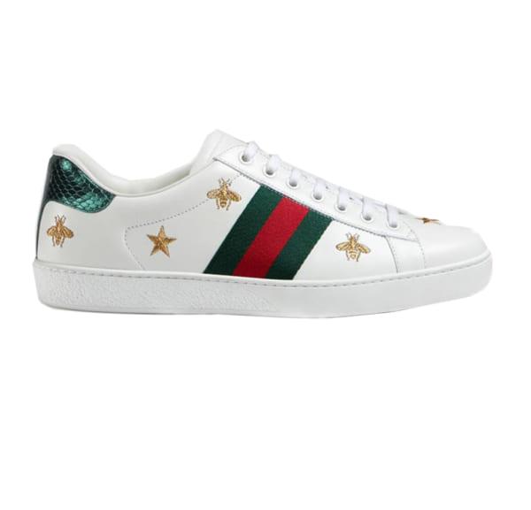 Giày nam Gucci họa tiết sao ong GNGC06